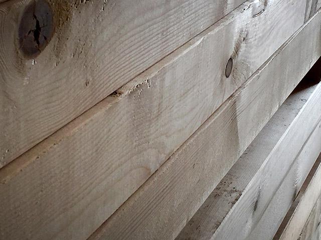Hobelware für den Holzbau