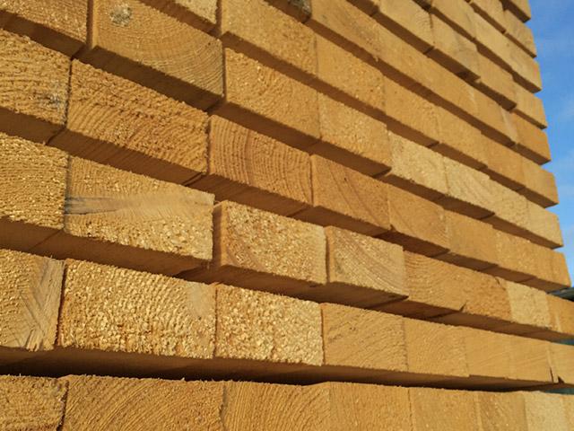 Schnittholz bei Ramrath-Holz
