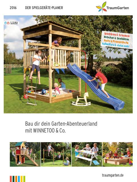 Spielgeräteplaner 2016 von Traumgarten bei Ramrath-Holz