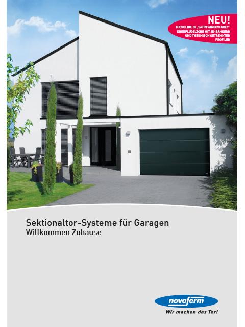 Sektionaltor-Systeme für Garagen