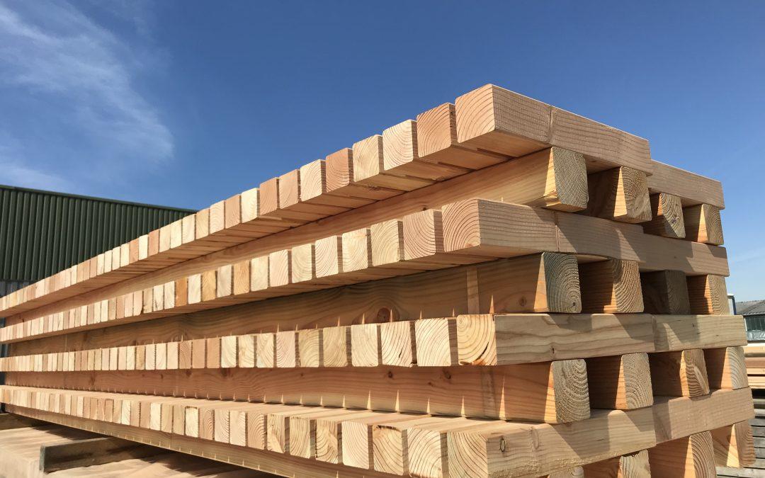 Douglasien-Holz