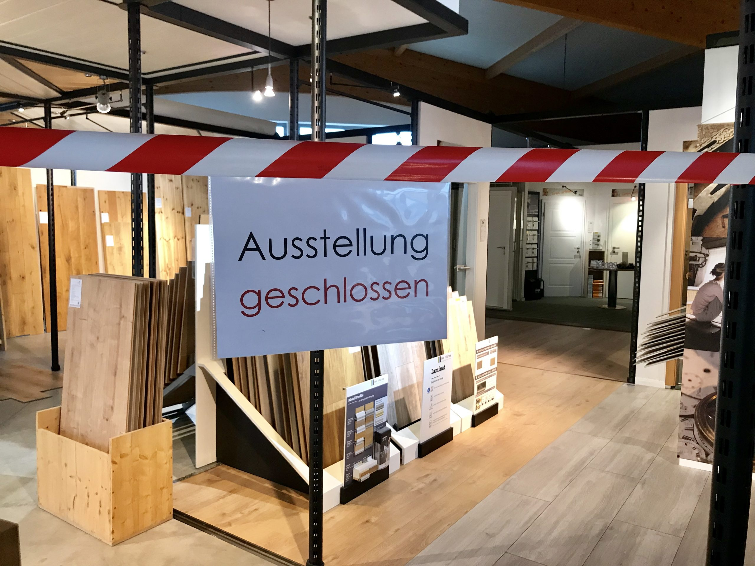 Ausstellung geschlossen